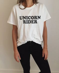 Welcome to Nalla shop :)  For sale we have these great Unicorn rider t-shirts!   With a large range of colors and sizes - just select your perfect