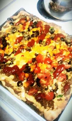 Easy Mexican Pizza Recipe.