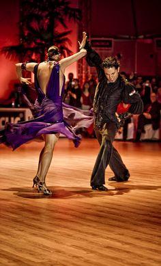 Paso Doble: Bryan Watson und Carmen Vincelj in the Euro Dance Festival 2008.