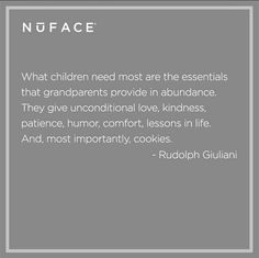 This quote is so true.  I had an amazing grandmother and am truly blessed with Brooklyn's grandparents.  They have been more than fabulous!