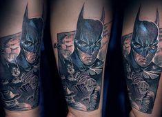 Portrait of batman in .