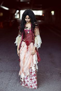 Calypso, Pirates of the Caribbean, by Anna Fischer at NYCC.