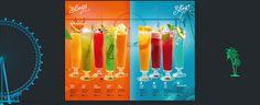 Make a summer promo-menu.