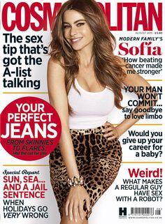 Sofía Vergara, Cosmopolitan Magazine [United Kingdom] (August 2015)