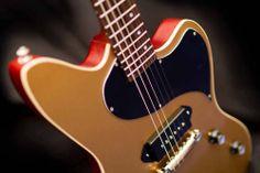 Kauer Guitars Daylighter JR Goldtop Satin Dark