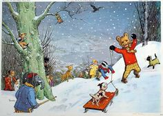 Ramsey Campbell and Stephen King on why Rupert Bear and Bambi are truly terrifying Bear Character, Children's Book Illustration, Book Illustrations, English Artists, Winter Photos, Cartoon Tv, Bambi, The Guardian, Faeries
