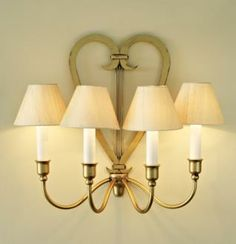 Carlton Wall Light from www.jim-lawrence.co.uk #valentine