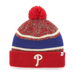 the latest 1d873 de5a2 Philadelphia Phillies Fairfax Cuff Knit Red 47 Brand Hat