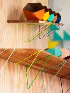 Guide to Decorating with Shelf Brackets Shelves Under Stairs, Wall Shelves, Shelving, Metal Furniture, Furniture Design, Norwegian Wood, Shelf Design, Shelf Brackets, Decorating Blogs