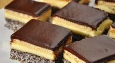 Prajitura Tosca – Cum se face in Ardeal Romanian Desserts, Romanian Food, Sweets Recipes, Cookie Recipes, Square Cakes, Food Cakes, Savoury Cake, Cake Cookies, Sweet Treats