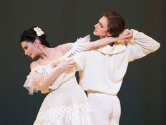 "Tamara Rojo and Sergei Poluninin in ""Marguerite and Armand.""<strong> <br /></strong>"