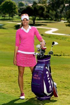 ladies golf apparel on sale www.pinksandgreens.com/golf/