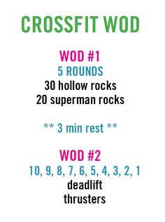 crossfit workout (WOD)