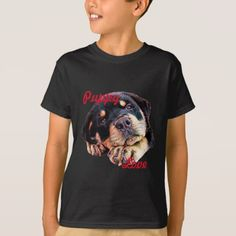 Rottweiler Puppy Love Rott Dog Canine German Breed T-Shirt - love gifts cyo personalize diy
