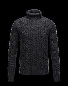 MONCLER Men - Fall/Winter 12 - KNITWEAR - High neck sweater -
