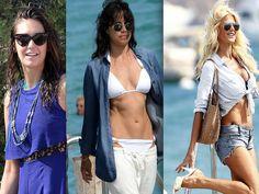 PHOTOS Nina Dobrev, Michelle Rodriguez et Victoria Silvstedt en vacances à Saint-Tropez - Voici