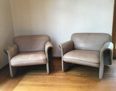 Pair of de Sede Chairs #Modern #deSede