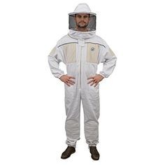 Humble Bee 430-XXXL Ventilated Beekeeping Suit with Round Veil (XXX Large)