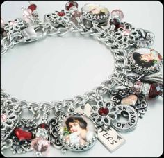 Heart Bracelet, Valentine Jewelry, Romantic Bracelet, Love Bracelet. Valentines Bracelet