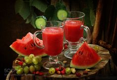 Watermelon smoothie by pretty  IFTTT 500px