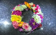 DIY couronne de fleurs mariée