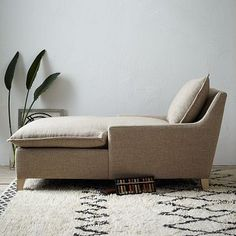 Bliss Down-Filled Chaise #westelm. I sure wish this came in other colors.