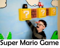 A Super Mario party done fabulously!