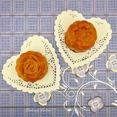 Baking Taitai 烘焙太太: Mandarin Peel Red Bean Paste Mooncake 陈皮红豆沙月饼 (中英加图对照食谱)