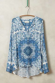 Anthropologie - Meadow Grove Peasant Top