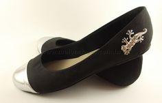 Sapatilha lizard - Preta prata #shoes