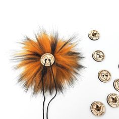 Toffee Brown Faux Fur Pom Poms – Warehouse 2020 Faux Fur Pom Pom, Black Nylons, Pom Poms, Toffee, Warehouse, Brown, How To Make, Handmade, Color