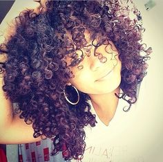 I'm so in love with her curls.