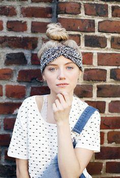 """Kopftücher - Turban Haarband """"Limited Edition"""" - S... - ein Designerstück von pikfine bei DaWan"""