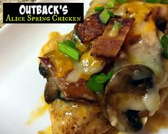 Outback Steakhouse Alice Spring's Chicken | Aunt Bee's Recipes