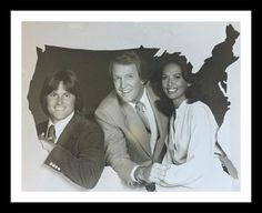 Bruce Jenner, Jack Linkletter and Janet Langhart on America Alive. It was a live daytime show in Bruce Jenner, America, Live, Classic, Derby, Classic Books, Usa
