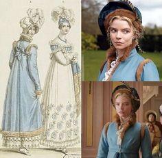 Emma Movie, Historical Dress, Regency Era, Fashion Plates, Jane Austen, Fashion History, Vintage Photos, Vintage Outfits, Films