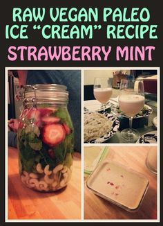REALLY easy raw vegan paleo ice cream recipe This was so yummy I almost died!