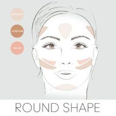 Beauty Tip: Here's how to apply your blush, bronzer & highlighter if you have a diamond face shape. Beauty Tip: Here's how to apply your blush, bronzer & highlighter if you have a diamond face shape. Contour Square Face, Face Shape Contour, Square Face Makeup, Face Contouring, Contour Makeup, Contouring And Highlighting, Blush Makeup, Eye Makeup, Corrective Makeup