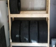 AuBergewohnlich I Work From Home Out Of My Garage And I Needed Some Extra Storage For  Wheels And Tires. Instead Of Buying A Tire Rack Or Shelving Unit From The  Store, ...