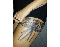 11 sensuales tatuajes de ligas para mujeres - Batanga