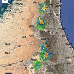 #شبكة_أجواء : #السحب و الخلايا الماطرة التي يرصدها رادار غيث الان على #الامارات و #سلطنة_عمان