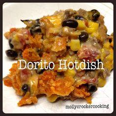 Molly Crocker Cooking: Dorito Hotdish