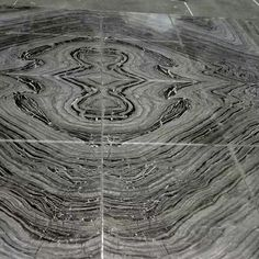 ancient wood marble book matching polished flooring