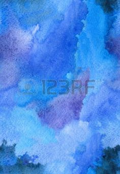 ripple effect: Watercolor stroke abstract seamless paper bright background