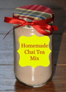 A delicious recipe for homemade Chai Tea mix!