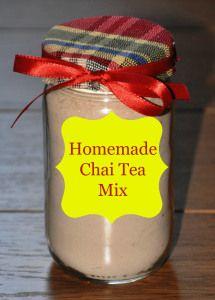 A delicious recipe for homemade Chai Tea mix!