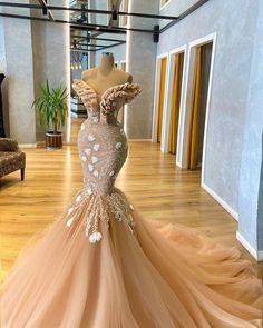 Gorgeous Prom Dresses, Prom Girl Dresses, Glam Dresses, Event Dresses, Beautiful Gowns, African Lace Dresses, African Wedding Dress, African Fashion Dresses, Wedding Outfits