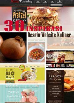 30 Inspirasi Desain Website Kuliner