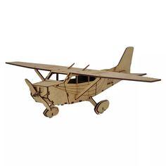 Avião Cessna. Quebra Cabeça 3d Miniatura Em Mdf - R$ 29,00 no MercadoLivre