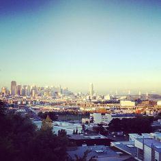 Beautiful view of San Francisco | @designconundrum